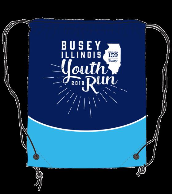 youth run drawstring backpack
