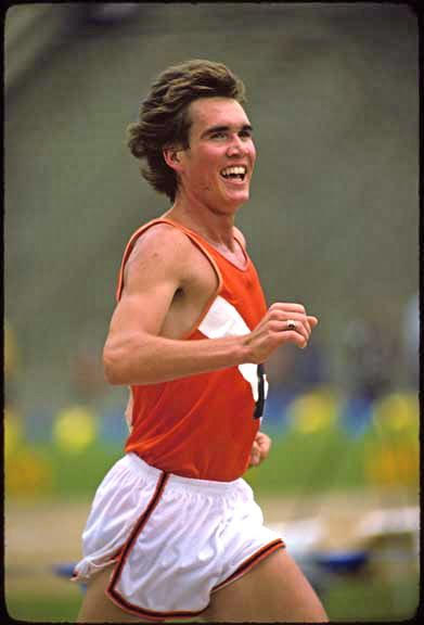 1976: Runner Craig Virgin in action Photo: © Rich Clarkson / Rich Clarkson and Assoc.