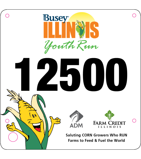 Youth Run Bib 2016