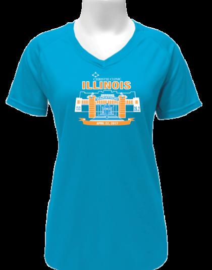 Women's Full Marathon Shirt