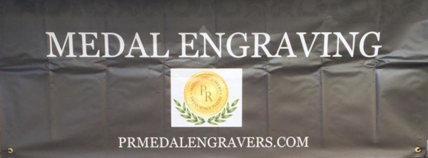 Medal Engraving Banner