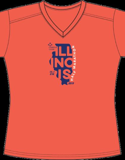 Women's Half Marathon Shirt