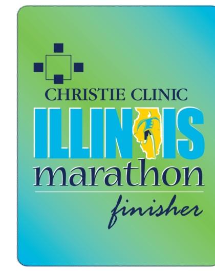 Image of the Marathon finisher blanket