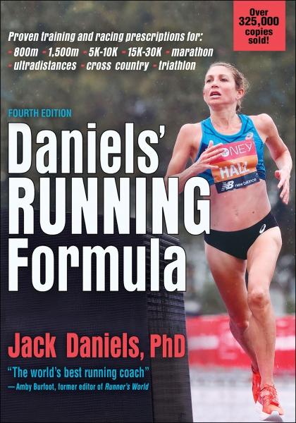 Book cover of Daniels' Running formula