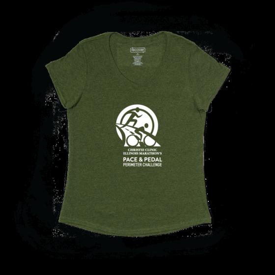 Quarter Perimeter Women's Short Sleeve Shirt